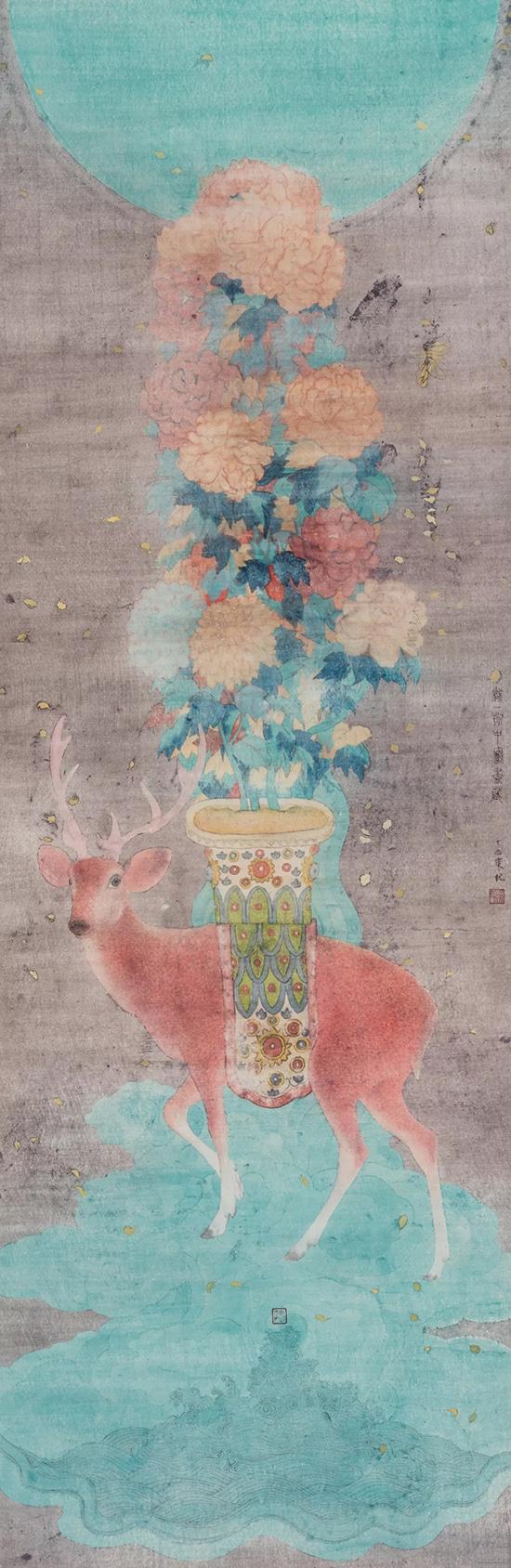 空谷妙音——赵东当代没骨画作品展